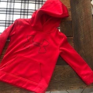 Under Armour child's red hoodie
